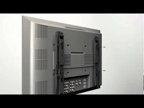 how to install your sanus vlt15 tv mount youtube. Black Bedroom Furniture Sets. Home Design Ideas