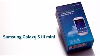 MOVISTAR Samsung Galaxy S III Mini Unboxing