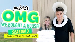 Master Bathroom Reveal! | OMG We Bought A House!