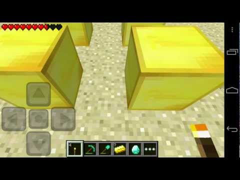 Minecraft Pocket Edition 0.5.0 Livestream By jbernhardsson Part 1