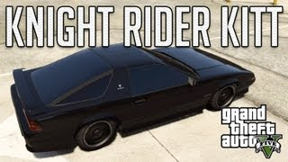 Knight Rider KITT (Imponte Ruiner) : GTA V Custom Car Build