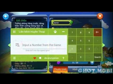 Hack Dame Chỉ số Liên Minh Huyền thoại mobile