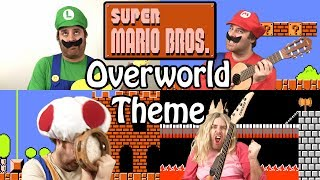 Super Mario Bros. Overworld Theme - Stop Motion - GuizDP
