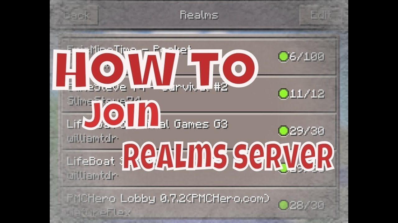 minecraft how to play realms with mojang account