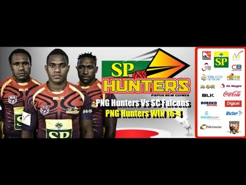 SC FALCONS VS PNG HUNTERS (RD 8 INTRUST SUPER CUP 2014)