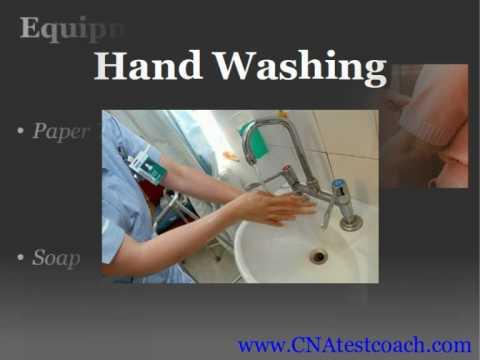 CNA Skill: Hand Washing -Xf-YQw8q_7E