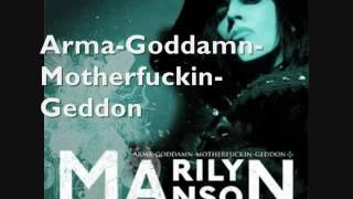 TOP 10 Marilyn Manson Songs