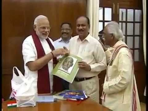 PM Modi releases biography on Sardar Patel in Braille