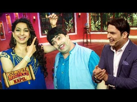 Juhi Chawla & Madhuri Dixit on Comedy Nights with Kapil 23rd February 2014 episode