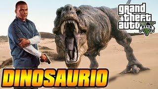 Misterios De GTA V Dinosaurio (kronosaurus) Fósil En