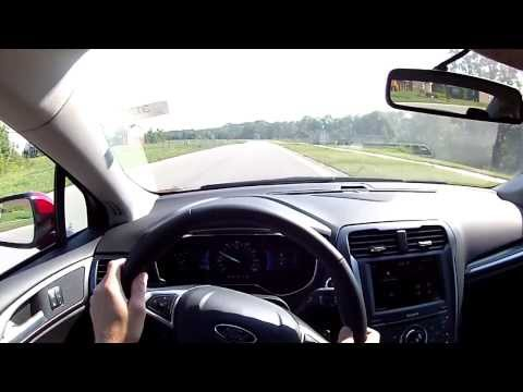 2014 Ford Fusion Titanium - WINDING ROAD POV Test Drive