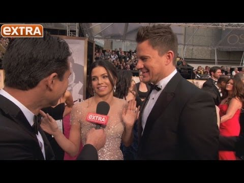 Oscars 2014: Channing Tatum and Jenna Dewan Gush over Baby Everly