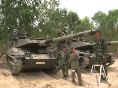 Royal Thai Army Tank's Fire Control System Repair Project - K.C.P.Associate Co., Ltd.