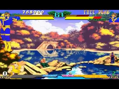 Marvel Super Heroes Vs. Street Fighter (Euro 970625) - Marvel Super Heroes Vs. Street Figter ken and ryu - User video