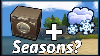 The Sims Info/Thoughts: Possible Seasons/Laundry Day Crossover? Leaked Console DLC?
