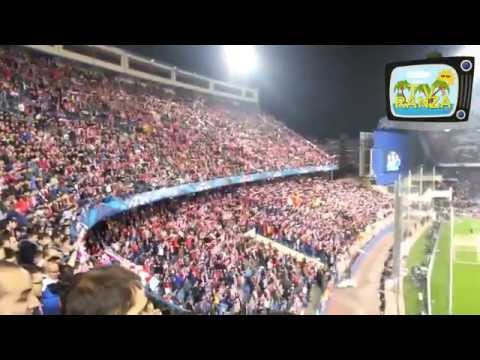 Atlético vs Milan, festa colchonera al Calderon