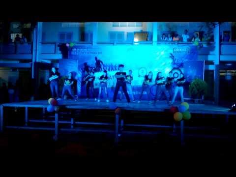 Nhảy dân vũ Doremon- Zin Zin - Waka waka - Vào Đời - Chi hội SV Long Mỹ