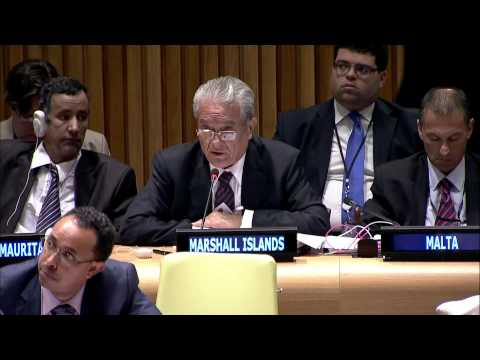 MARSHAL ISLANDS Laments Nuclear Agreements
