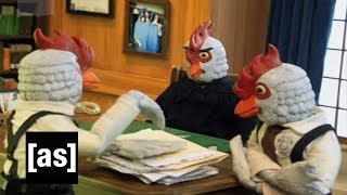 Robot Chicken: Law and Order, with Chickens Instead of People