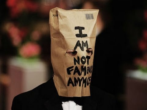 Shia LaBeouf Wears Paper Bag On Head at Berlin Film Festival