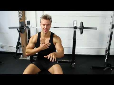 Inner Chest Workout with the Powertec Olympic Bench and Functional Trainer with Rob Riches