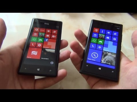 Сравнение Nokia Lumia 920 и HTC Windows Phone 8X / от Арстайл /