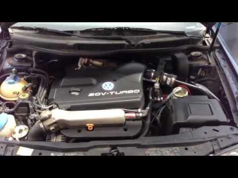 HHO Hydrogen Generator on 2001 VW Jetta 1.8t Test1