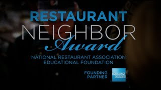 Restaurant Neighbor Award 2014 - Call for Submissions!