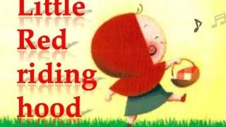 Little red riding hood, Fairy tales with subtitles