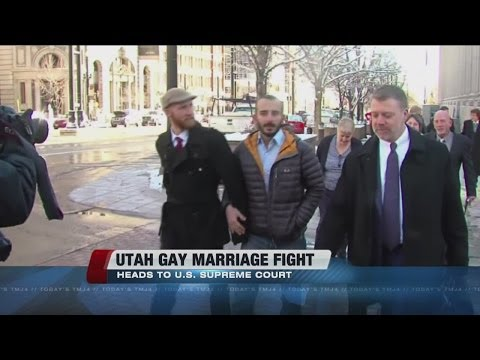 Same-sex marriage dispute in Utah heads to Supreme Court