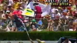 AUSTRALIA Vs INDIA, 1992 WORLD CUP MATCH, GABBA, AUS INN