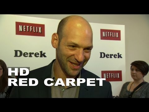 Derek Premiere; Corey Stoll Red Carpet Interview