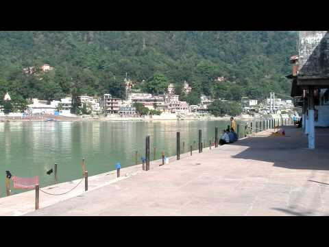 Ganga bathing in Rishikesh