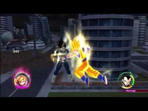 Dragonball Z Raging Blast 2 - Goku VS Vegeta