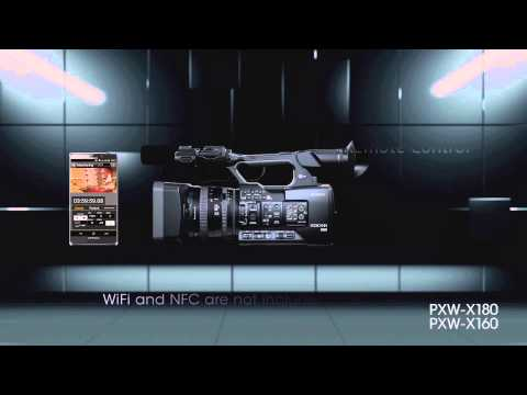 Sony PXW-X160 XDCAM with 25x Zoom lens Camcorder package e