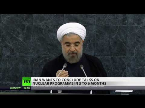 Nuclear Advance: Iran's Rouhani wants deal 'in 3 to 6 months'