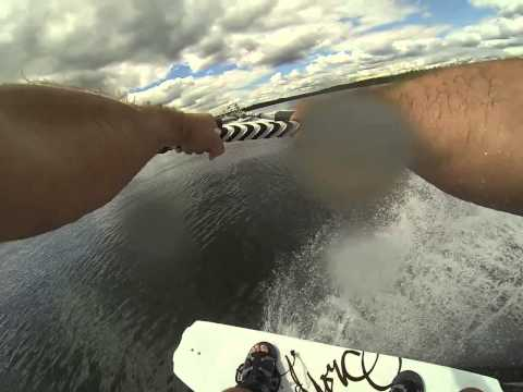 Tubing and Wakeboarding at Childs Lake 03/08/2013 - Teaser