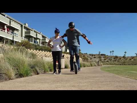 video Solid Ninebot One S1 by Segway