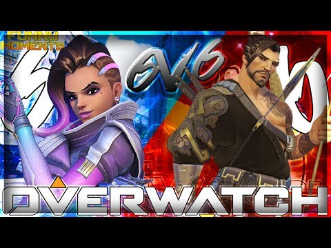 Overwatch | All Sombra VS. All Hanzo [Funny Moments]