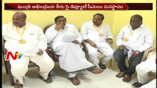 Senior TDP leaders hurt with Akhila Priya's behaviour..
