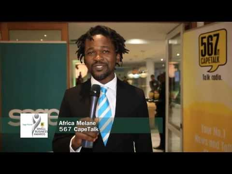567 CapeTalk Small Business Awards 2103 with Sage Pastel