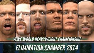WWE 2K14 Elimination Chamber 2014 Simulation (Orton, Cena