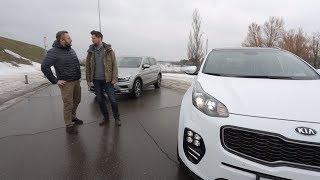 Выбор есть! Вып. 50. Kia Sportage и Volkswagen Tiguan. Авто Плюс ТВ