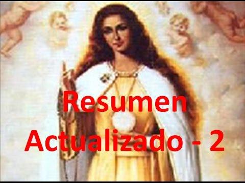 Complementos 16-B: Resumen actualizado: la Virgen, el Papa y otras preguntas