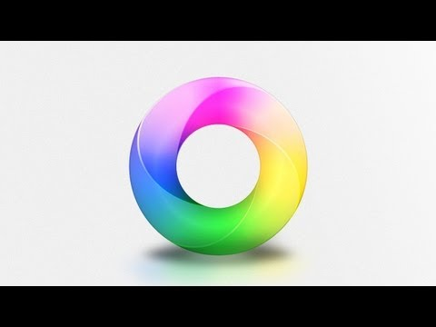 Create a Vibrant Color Ring -- Advanced Photoshop Tutorial