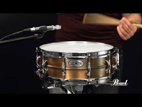 Pearl Sensitone Elite 14x5 Premium Brass Snare Drum
