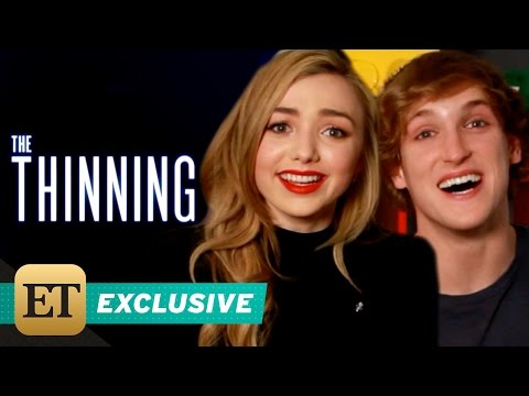 EXCLUSIVE: Peyton List and Logan Paul Reveal 5 On-Set Secrets From 'The Thinning'
