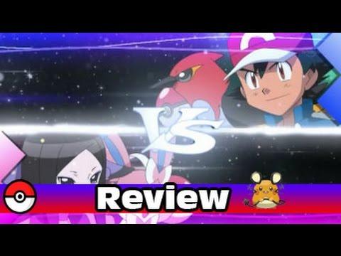 Pokemon XY Anime Episode 74 Review Flacon Vs  Fairy!