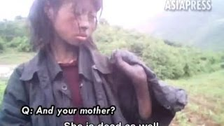 [North Korea -  Starving 23 year-old Homeless Woman (Rimjin-g...] Video