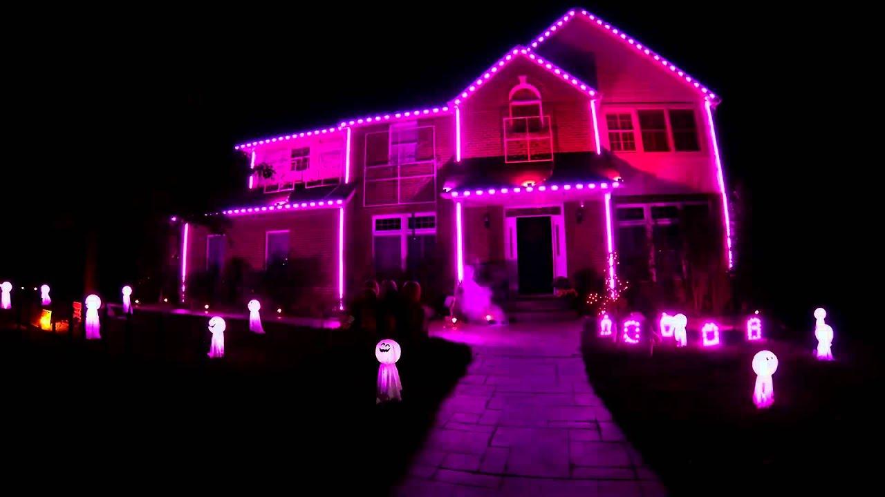 Nightmare Before Christmas Light Show | X-Mas